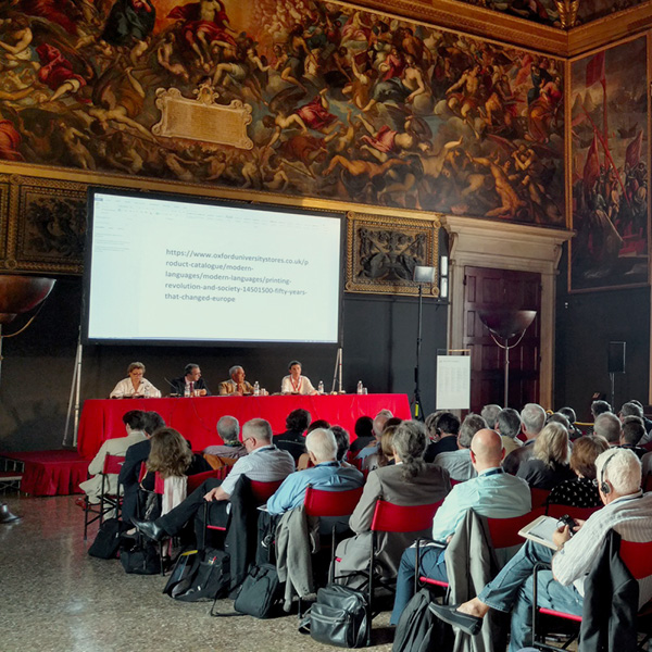 Printing R-Evolution and Society, The Conference, Venice 2018, participants